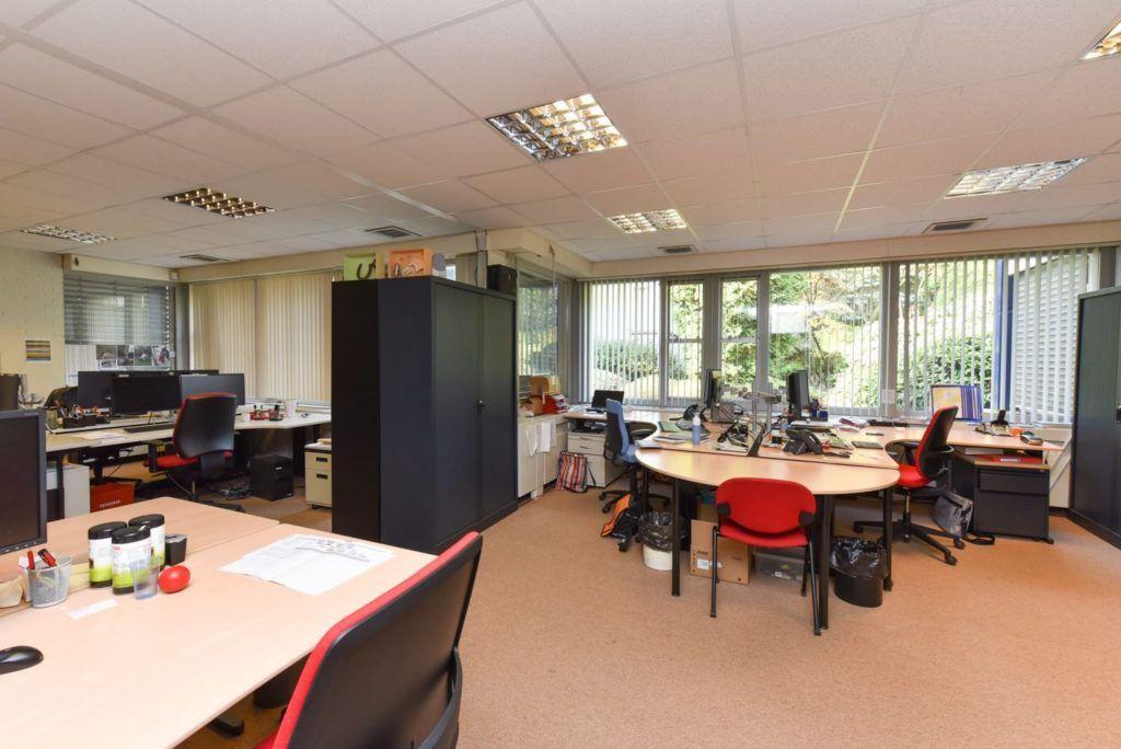 Een van de te huren kantoorruimtes bij Flexplek Nijmegen 1