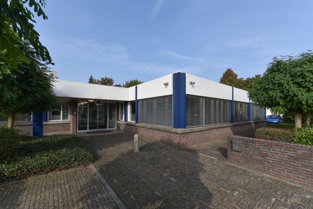 Ingang gebouw Flexplek Nijmegen